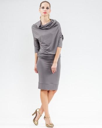 Kleid TUBE grau