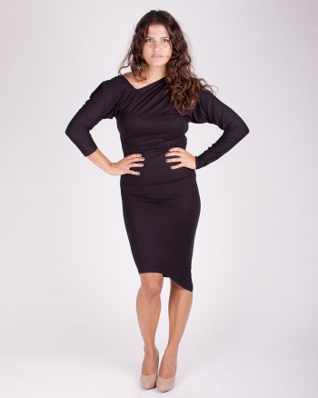 kaseee Kleid schwarz