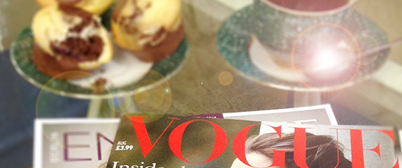 Vogue Werbung